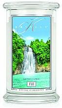 Parfumuri și produse cosmetice Lumânare aromată (borcan) - Kringle Candle Fiji