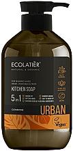 """Parfumuri și produse cosmetice Săpun lichid pentru bucătărie """"Clementine"""" - Ecolatier Urban Liquid Soap"""