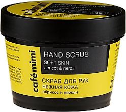 Parfumuri și produse cosmetice Scrub pentru mâini - Cafe Mimi Hand Scrub Soft Skin