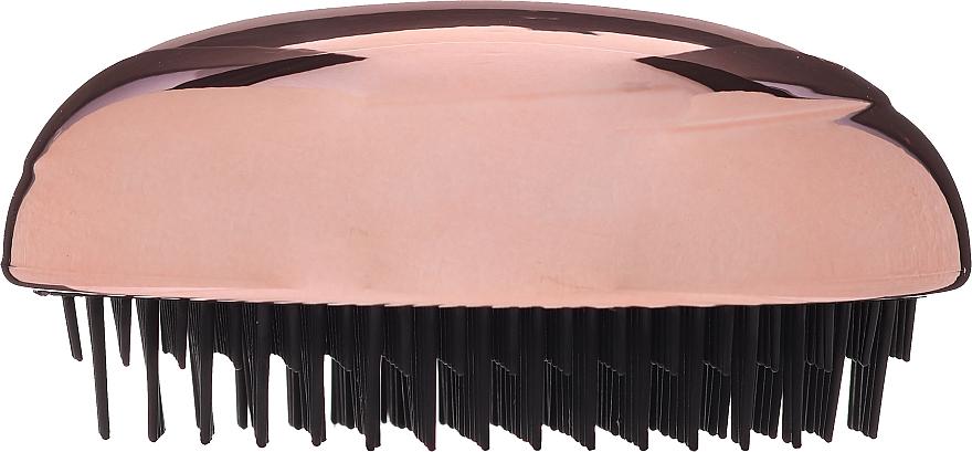 Perie de păr - Inter-Vion Untangle Brush Glossy Metallic — Imagine N2