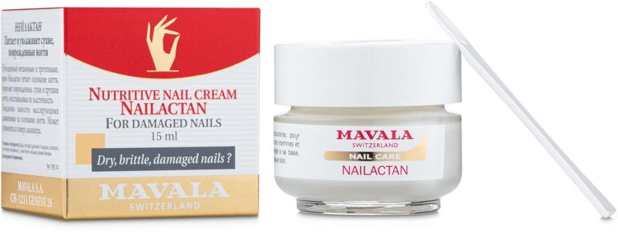 Cremă pentru unghii deteriorate - Mavala Nailactan — Imagine N1