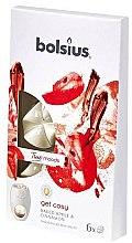 """Parfumuri și produse cosmetice Ceară aromatică """"Mere coapte și Scorțișoară"""" - Bolsius True Moods Get Cosy Baked Apple & Cinnamon"""