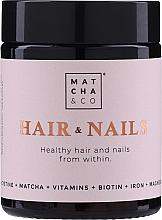 Parfumuri și produse cosmetice Capsule pentru unghii și păr - Matcha & Co Hair & Nails Capsules