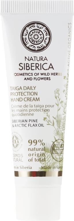 """Cremă de mâini pentru îngrijirea zilnică """"Taiga"""" - Natura Siberica Cosmos Natural Taiga Daily Protestive Hand Cream — Imagine N1"""
