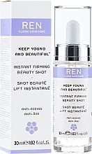 Parfumuri și produse cosmetice Ser facial - Ren Keep Young and Beautiful Instant Firming Beauty Shot