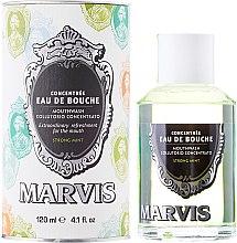 Parfumuri și produse cosmetice Apă de gură - Marvis Concentrate Strong Mint Mouthwash