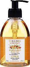 "Parfumuri și produse cosmetice Săpun lichid ""Citrice"" - Collines de Provence Purifying Citrus Soap"