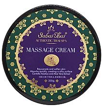 Parfumuri și produse cosmetice Cremă cu ulei de tărâțe și aloe vera pentru masaj - Sabai Thai Jasmine Massage Cream