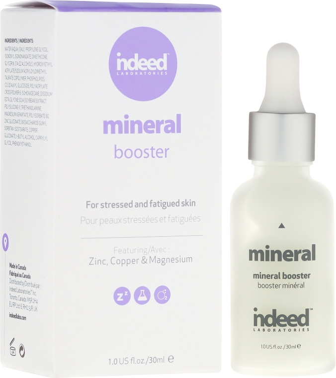 Ser micelar pentru față - Indeed Labs Mineral Booster Serum — Imagine N1