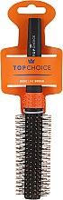 Parfumuri și produse cosmetice Perie de păr, 2083, portocaliu + negru - Top Choice