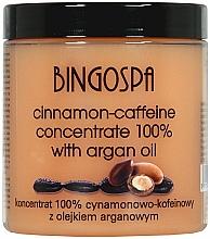 Parfumuri și produse cosmetice Concentrat de scorțișoară și cofeină cu extract de ulei de argan - BingoSpa