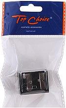 Parfumuri și produse cosmetice Ascuțitoare dublă pentru creioane cosmetice, 2182, neagră - Top Choice