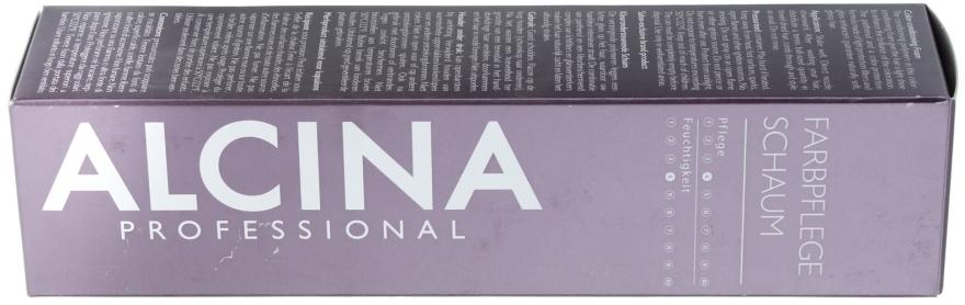 Spumă pentru părul vopsit - Alcina Hair Care Farbpflege-Schaum — Imagine N1