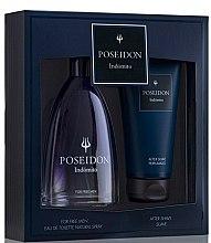 Parfumuri și produse cosmetice Instituto Español Poseidon Indómito - Set (edt/150ml + after/shave/150ml)