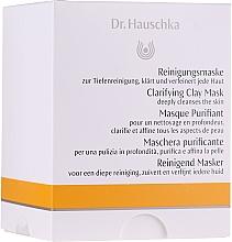 Parfumuri și produse cosmetice Mască de față - Dr. Hauschka Clarifying Clay Mask (mini)