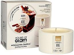 Parfumuri și produse cosmetice Lumânare aromată - House of Glam Hot Spiced Wine Candle
