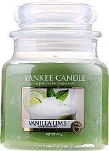 "Parfumuri și produse cosmetice Lumânare parfumată ""Vanilie si lime"" - Yankee Candle Vanilla Lime"