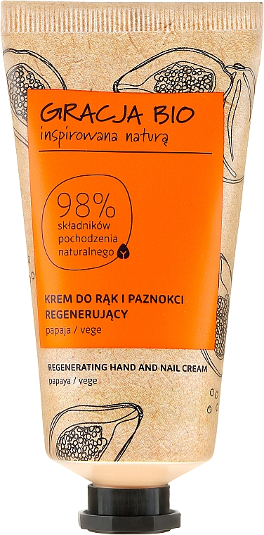 Cremă de mâini - Gracja Bio Regenerating Hand And Nail Cream