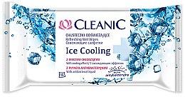Parfumuri și produse cosmetice Șervețele revigorante, 15buc - Cleanic Ice Cooling Wipes
