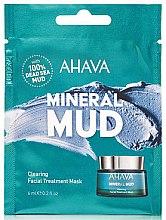 Parfumuri și produse cosmetice Mască-detox pentru față - Ahava Mineral Mud Clearing Facial Treatment Mask (mostră)