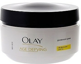 "Cremă de zi ""Elasticitatea pielii"" - Olay Age Defying Day Cream  — Imagine N4"