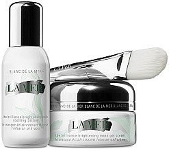 Parfumuri și produse cosmetice Set - La Mer The Brilliance Brightening Mask Duo (cr/50ml + primer/30ml)