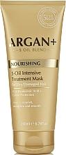 Parfumuri și produse cosmetice Mască pentru păr uscat și deteriorat - Argan + Nourishing 5-Oil Intensive Treatment Mask