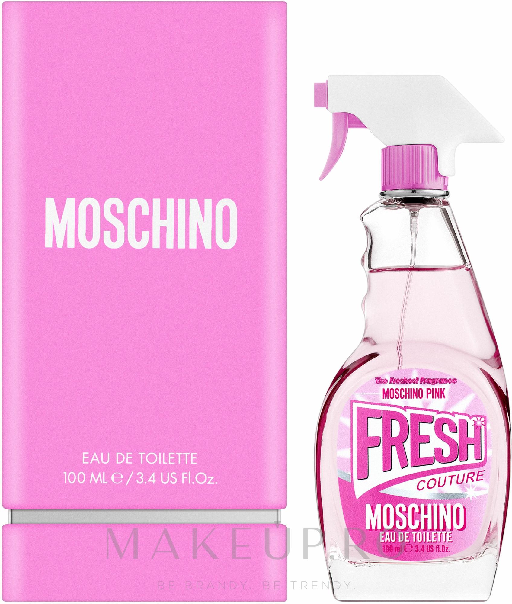 Moschino Pink Fresh Couture - Apă de toaletă — Imagine 100 ml