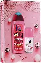 Parfumuri și produse cosmetice Set - Fa Polinesia Secrets (sh/grl/250ml + deo/50ml)