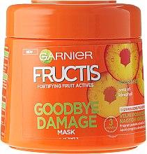 """Parfumuri și produse cosmetice Mască de păr """"Adio fragilitate"""" - Garnier Fructis Good Bye Damage Hair Mask"""