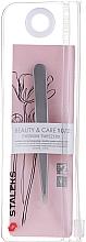 Parfumuri și produse cosmetice Pensetă îngustă pentru sprâncene - Staleks