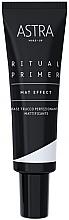 Parfumuri și produse cosmetice Baza matifiantă de machiaj - Astra Make-Up Ritual Primer Mat Effect