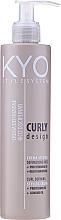 Parfumuri și produse cosmetice Cremă pentru păr ondulat - Kyo Style System Curly Design
