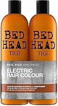 Parfumuri și produse cosmetice Set - Tigi Bed Head Colour Goddess (sh/750ml + cond/750ml)