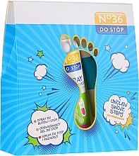 "Parfumuri și produse cosmetice Set ""Protecția picioarelor"" - Pharma CF No.36 (f/spr/150ml + f/gel/75ml + foot/serum/50ml)"
