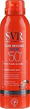 Parfumuri și produse cosmetice Spray de protecție solară - SVR Sun Secure Brume Invisible Fresh Mist SPF 50