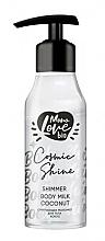"""Parfumuri și produse cosmetice Lapte de corp """"Cocos"""" - MonoLove Bio Shimmer Body Milk Coconut Cosmic Shine"""