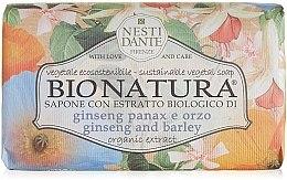 "Parfumuri și produse cosmetice Săpun ""Ginseng și orz"" - Nesti Dante Bio Natura Ginseng & Barley Soap"