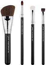 Parfumuri și produse cosmetice Set pensule pentru machiaj, T310, 4buc - Jessup