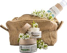Parfumuri și produse cosmetice Set pentru ten gras și combinat - Shy Deer (emulsion/200ml + cr/50ml + e/cr/30ml)