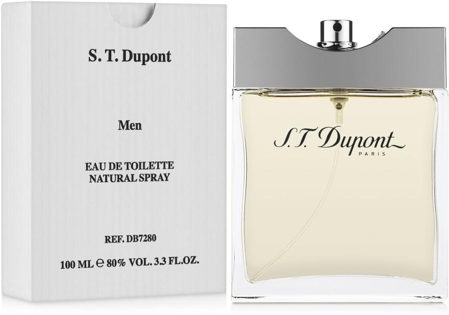 Dupont Pour Homme - Apă de toaletă (tester fără capac) — Imagine N2
