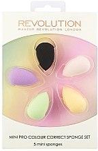 Parfumuri și produse cosmetice Set burete de machiaj - Makeup Revolution Mini Pro Colour Correct Sponge Set