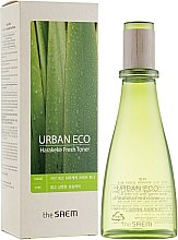 Parfumuri și produse cosmetice Tonic pentru față - The Saem Urban Eco Harakeke Fresh Toner