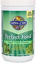 "Parfumuri și produse cosmetice Supliment alimentar praf ""Formulă verde"" - Garden of Life Perfect Food Super Green Formula"