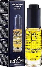 Parfumuri și produse cosmetice Ulei pentru unghii - Herome Exit Damaged Nails