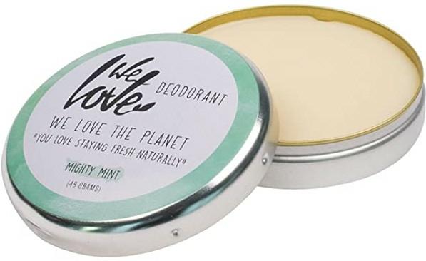 "Deodorant cremă ""Mentă"" - We Love The Planet Mighty Mint Cream Deodorant — Imagine N2"