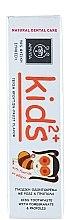 Pastă de dinți pentru copii, cu rodie și propolis - Apivita Healthcare Natural Dental Care Kids 2+ Kids Toothpaste With Pomegranate & Propolis — Imagine N3