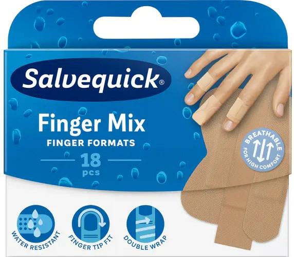 Plasture pentru degete - Salvequick Finger Mix