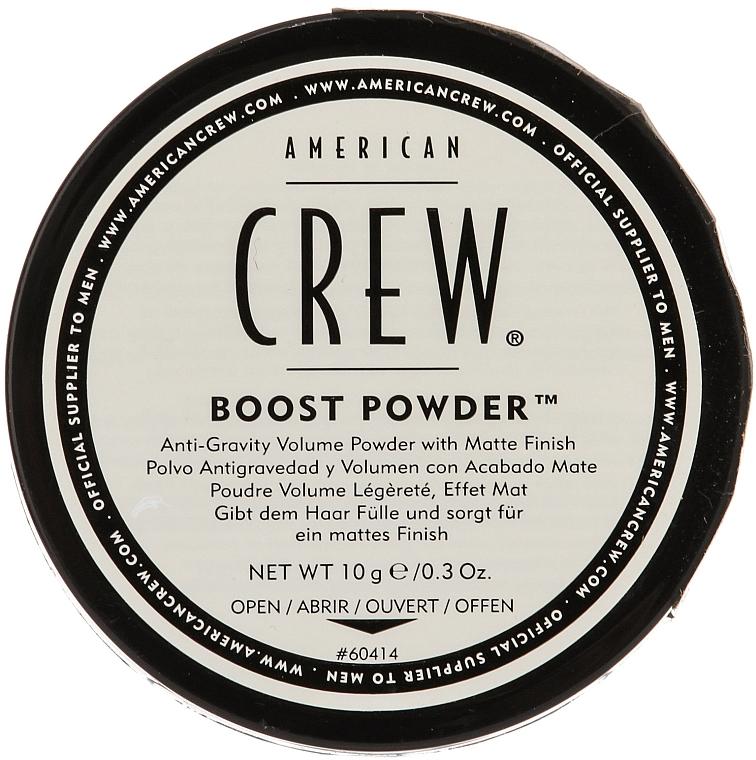 Pulbere anti-gravitație pentru volum, cu efect mat - American Crew Boost Powder — Imagine N1