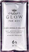Vopsea de păr - Kallos Cosmetics Glow Long Lasting Cream Hair Colour Man — Imagine N3